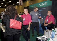 Exhibit Hall, Camfil booth, 2017 ABSA International Conference