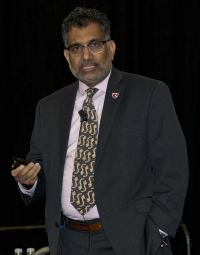 Ali Khan, MD, recipient of the Arnold G. Wedum Memorial Lecture Award, 2017 ABSA International Conference