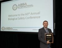 David Pawlowski, Richard C. Knudsen Publication Award recipient, 2017 ABSA International Conference