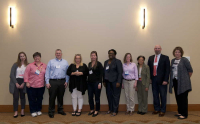 New RBPs and CBSPs at the Honor Awards and Special Recognition Luncheon, 2017 ABSA International Conference