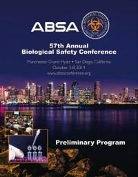 ABSA 2014 San Diego - Preliminary Program