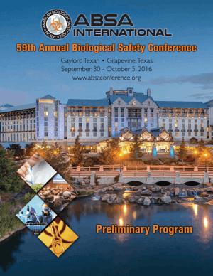 ABSA 2016 Preliminary Program