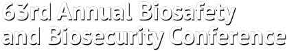 ABSA Annual Biosafety and Biosecurity Conference Logo